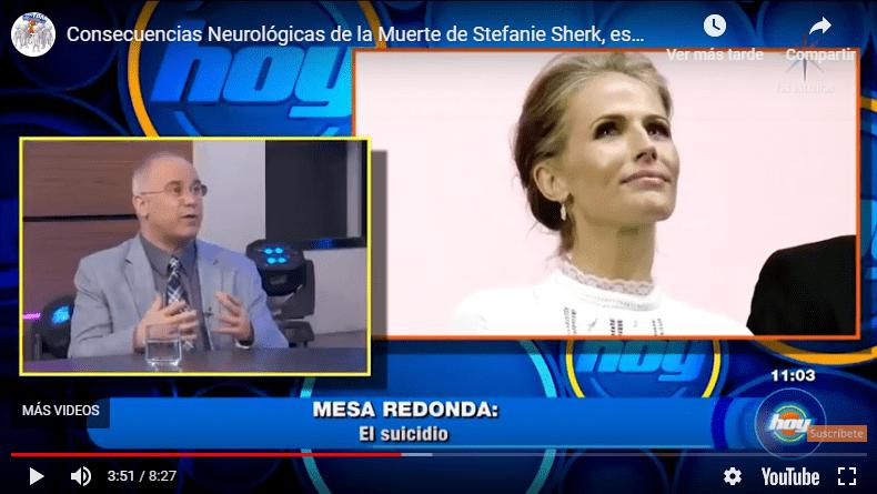 Muere Ahogada Stefanie Sherk, esposa de Demián Bichir: Efectos Neurológicos del Ahogamiento sobre el Cerebro
